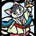 巫女さん猫